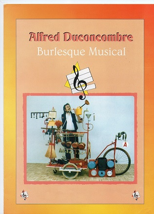 Alfred Duconcombre spectacle burelesque de clown dans le Nord Pas de